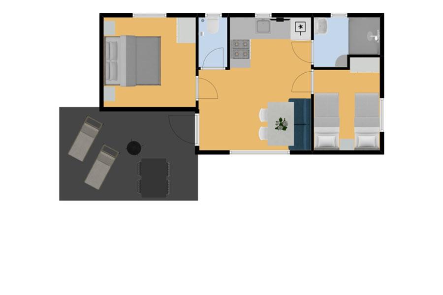 Mobil home Palourde